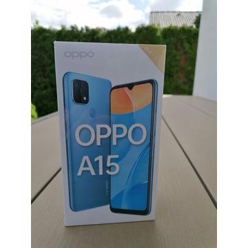 Telefon OPPO A15, nowy