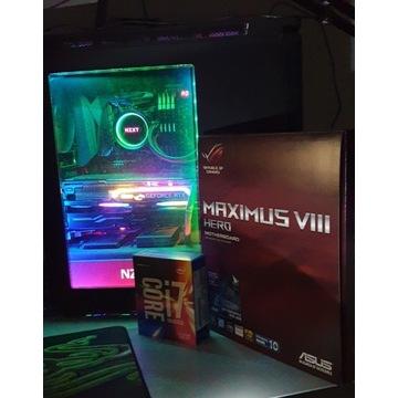 Intel core i7 6700k + Asus ROG Maximus VIII Hero