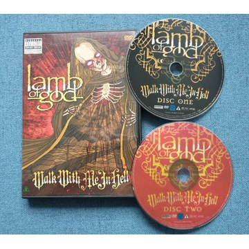 Lamb of God - Walk With Me In Hell, 2 DVD