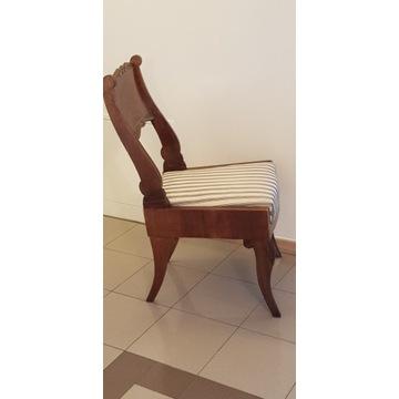 Rosyjski Biedermeier- krzesło XIX wiek