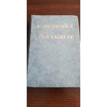 """Książka """"Pan Tadeusz"""" wydanie Czytelnik 1954r."""