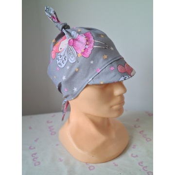 Chustka z daszkiem czapka na lato