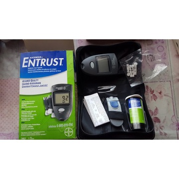 Glukometr Ascensia Entrus+Lancety+ Nakłuwacz