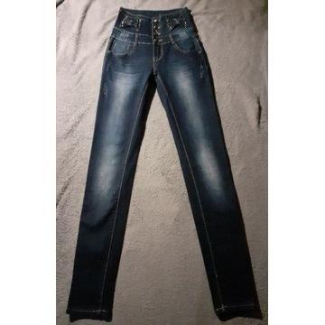 Przepiękne spodnie stan idealny xs xxs