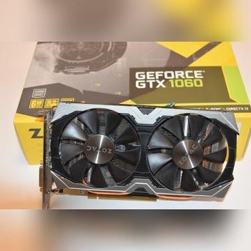 ZOTAC GeForce GTX 1060 AMP 6GB gw 9 mies