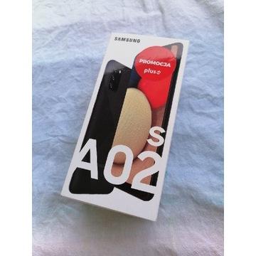 Samsung A02s 32GB czarny zaplombowany