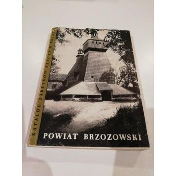 Katalog Zabytków Sztuki w Polsce p. brzozowski
