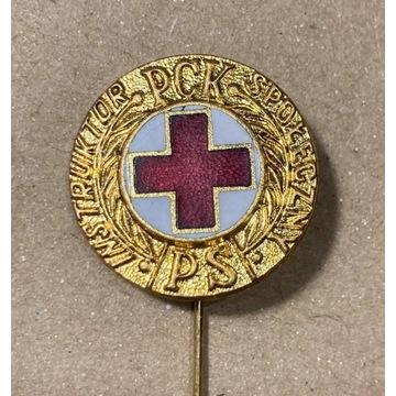 odznaka Instruktor Społeczny PCK