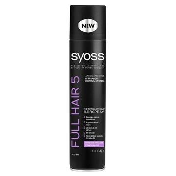 SYOSS FULL HAIR 5 lakier do włosów 300ml najtaniej