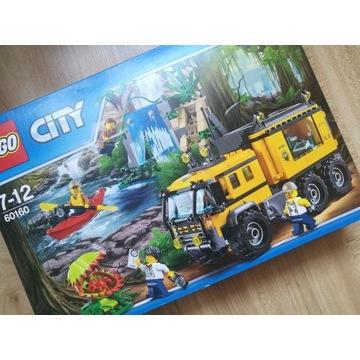 Klocki lego city 60160 mobilne laboratorium jungle