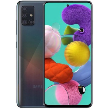 Smartfon Samsung Galaxy A51 DS 4/128 GB czarny