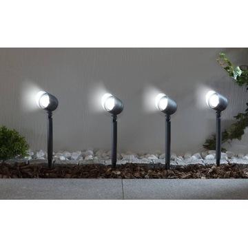 Wetelux - Solarna lampa ogrodowa LED - zestaw 4