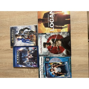 X-MEN Wolverine kolekcja DVD/Blu-ray 5 filmów