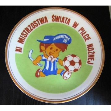 Piłka nożna - MŚ Argentyna 78 - porcelanowa patera
