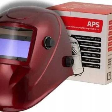 Przyłbica automatyczna do spawania APS-616G RED