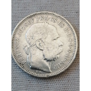 1korona 1893 Srebro