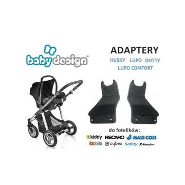 BABY DESIGN adaptery HUSKY LUPO (COMFORT) DOTTY