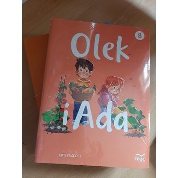 Olek i Ada B karty pracy