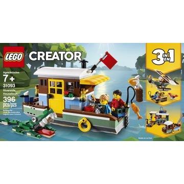 Klocki LEGO Creator Łódź mieszkalna 31093
