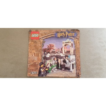 Lego harry potter hogwart 4706 unikat