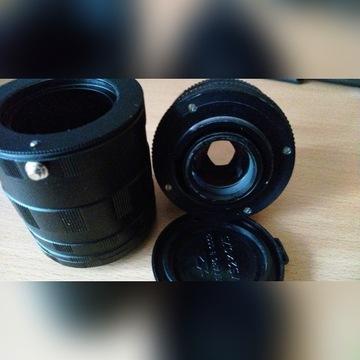 Pierścienie makro Nikon + obiektyw