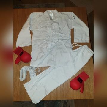 Kimono Judoka Decalton r 130 + rękawice