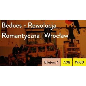 Bedoes Szlak Wygnańców Bilet Wrocław 07.08