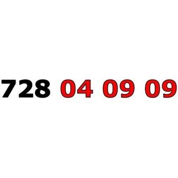 728 04 09 09 ŁATWY ZŁOTY NUMER STARTER