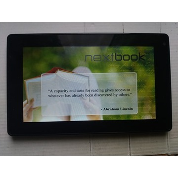 Tablet Nextbook 7 cali uszkodzony