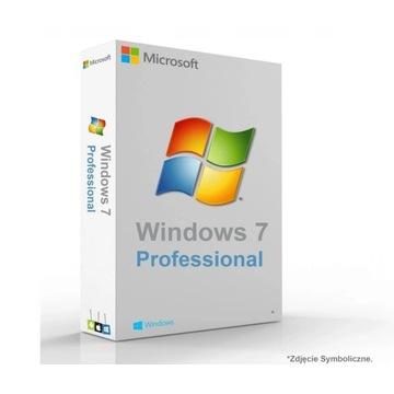 Microsoft Windows 7 PL płyta instalacyjna