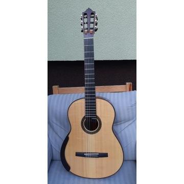 Koncertowa, lutnicza gitara klasyczna Teryks