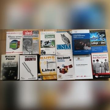 Zestaw 20 książek komputerowych IT - 12 zł sztuka!