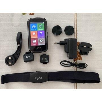 MIO CYCLO 605 HC nawigacja rowerowa z czujnikami