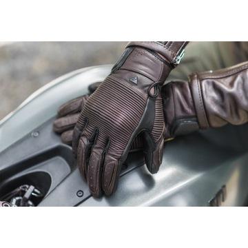 Rękawice skórzane motocykl SHIMA Blake Brown r. L