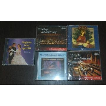 Zestaw 15 CD Muzyka Nowe w folii