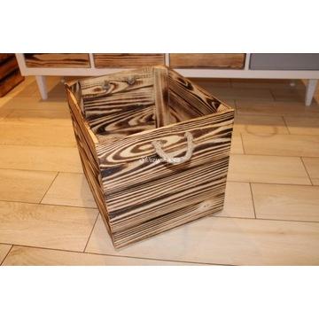 2 skrzynki ze sznurkiem kosz, pudełko do Kallax
