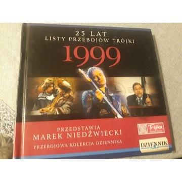 25 LAT LISTY PRZEBOJÓW TRÓJKI 1999