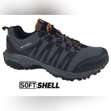 NOWE Buty Trekkingowe Softshell Feet Grey 41
