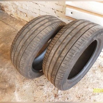 opony letnie Michelin 3,7 mm  235/55/17