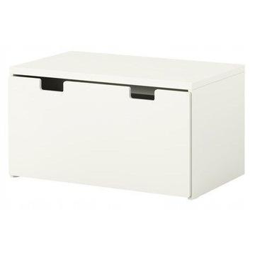 IKEA Pudełko wózek Stuva Malad białe