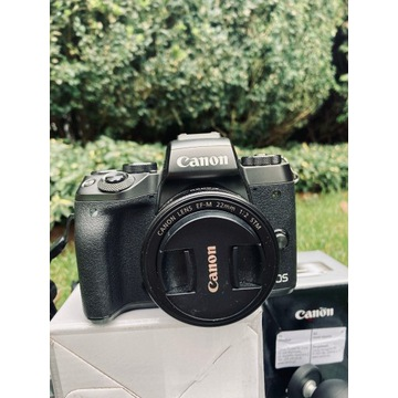 Canon m5, 22mm, 50mm, plus