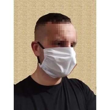 Maska maseczka bawełniana  do biegania streetwear
