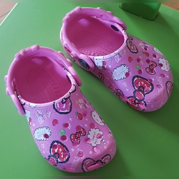 Crocsy Hello Kitty rozm. 20 ( 13-13,5cm. )