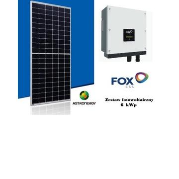 Zestaw Fotowoltaiczny 6 kWp