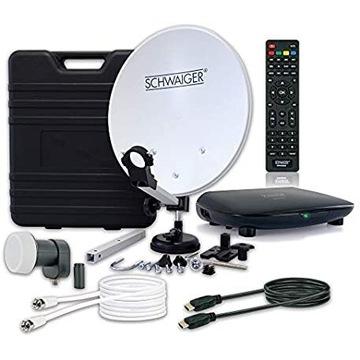 Mobilny system satelitarny Schwaiger sat 360 001