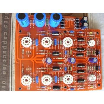 Wzmacniacz lampowy 6V6 Push pull DIY/PCB.