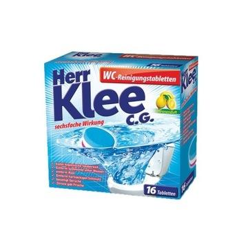 Tabletki odkamieniające do WC Herr Klee C.G. 16szt