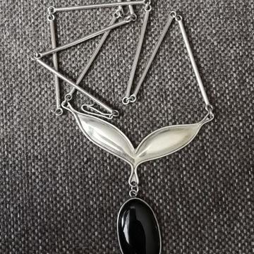 Stary naszyjnik ze srebra 925