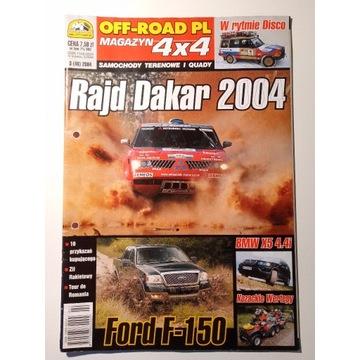 Off-Road PL Magazyn 4x4 Samochody terenowe 3/2004