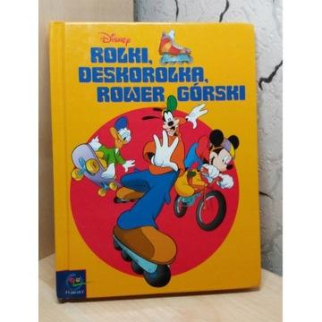 Rolki, Deskorolka, Rower górski. A.Grammont Disney
